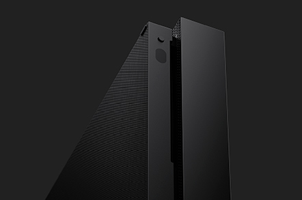 console microsoft xbox one x