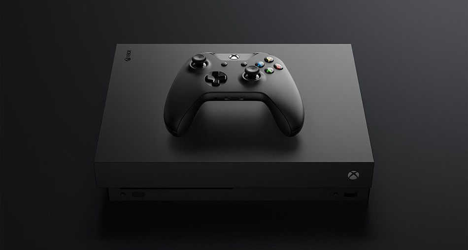 new console xbox one x une
