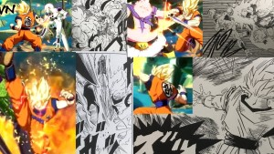 dragon ball fighter Z comparatif 1