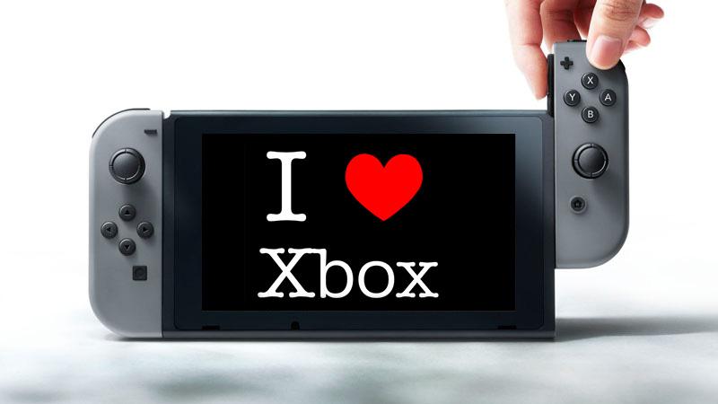 nintendo love xbox