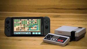 nintendo switch console nes emulateur