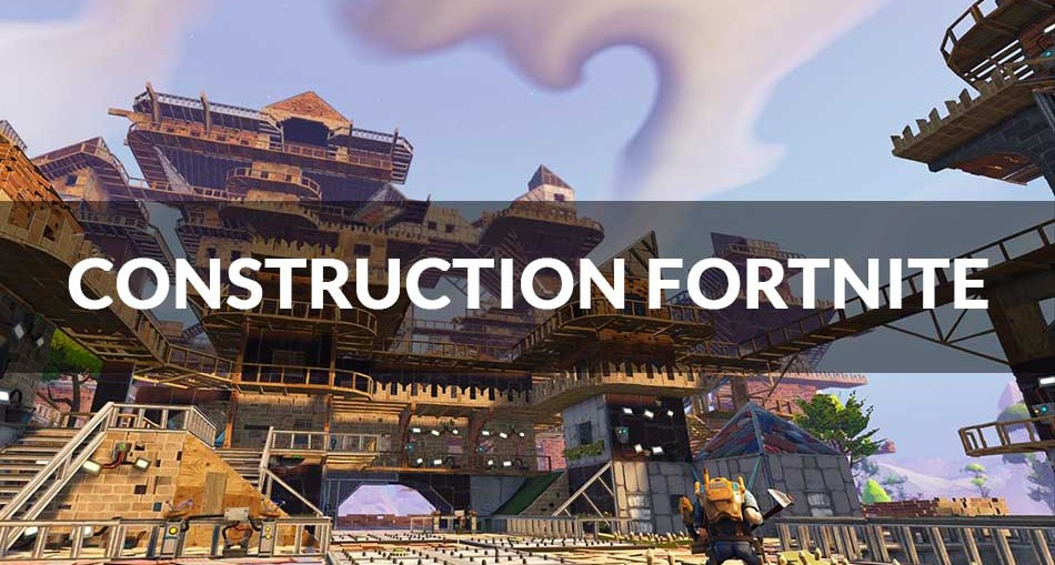 guide fortnite toutes les possibilit s de constructions pour sa base generation game. Black Bedroom Furniture Sets. Home Design Ideas