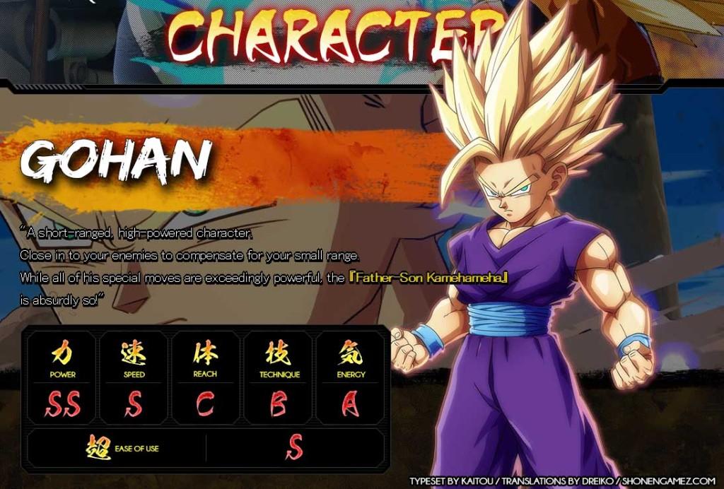 db-fighter-Z-stats-Gohan
