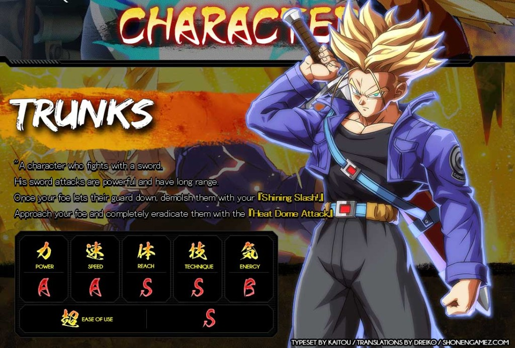 db-fighter-Z-stats-Trunks