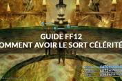 guide ff12 sort célérité 2