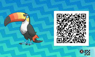 Bazoucan-pokemon-ultra-QR-Code-pokedex-733