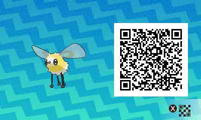 Bombydou-pokemon-ultra-QR-Code-pokedex-742