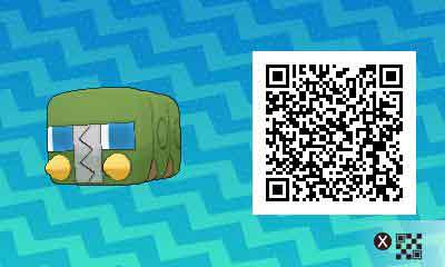 Chrysapile-pokemon-ultra-QR-Code-pokedex-737