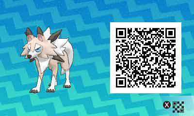 Lougaroc-pokemon-ultra-QR-Code-pokedex-745
