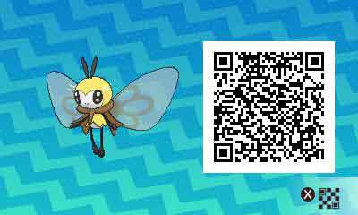 Rubombelle-pokemon-ultra-QR-Code-pokedex-743