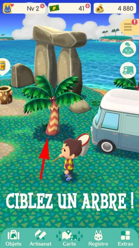 astuce-secouer-un-arbre-animal-crossing-pocket-camp-01