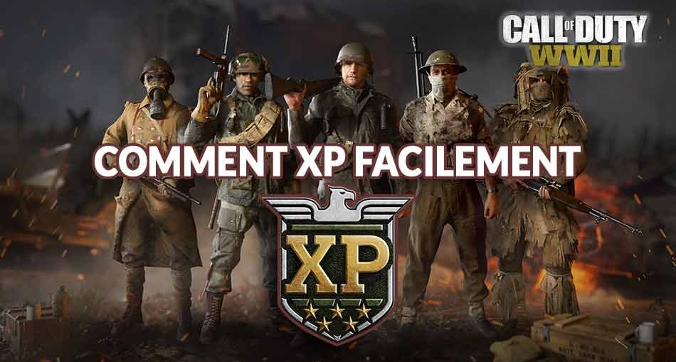 Comment XP Facilement Cod Ww2