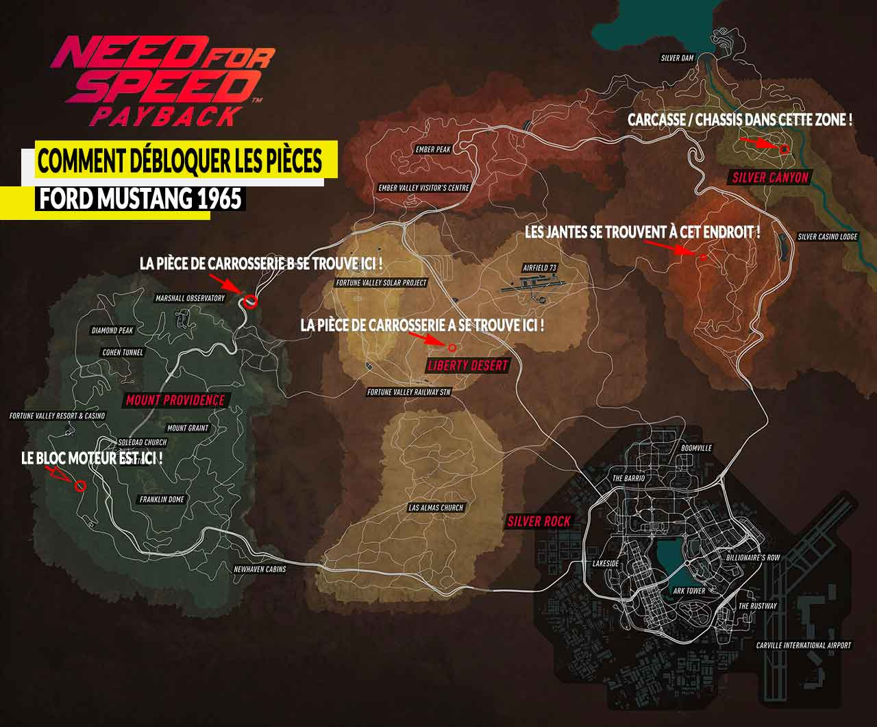 guide pieces ford mustang 1965 need for speed payback 01 generation game. Black Bedroom Furniture Sets. Home Design Ideas