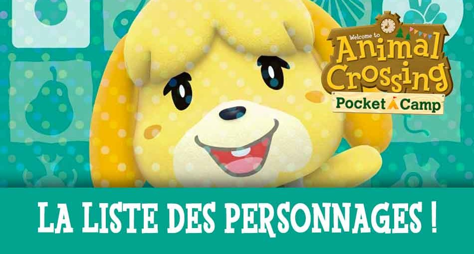 liste-des-personnages-animal-crossing-pocket-camp