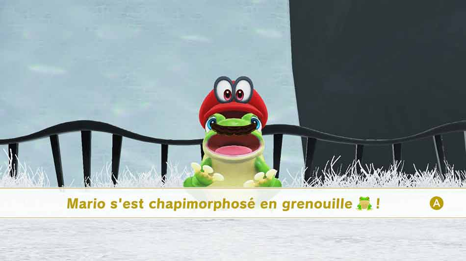 Wiki Super Mario Odyssey transformation Chapimorphose