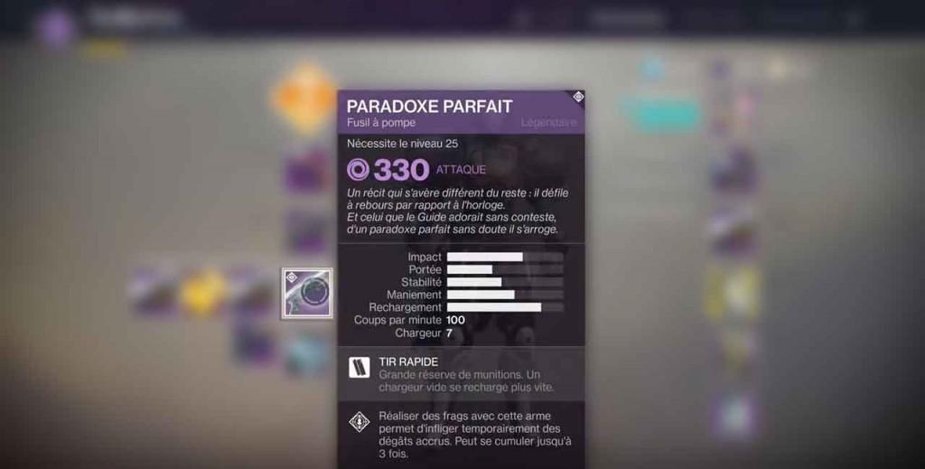 fusil-a-pompe-paradoxe-parfait-destiny-2
