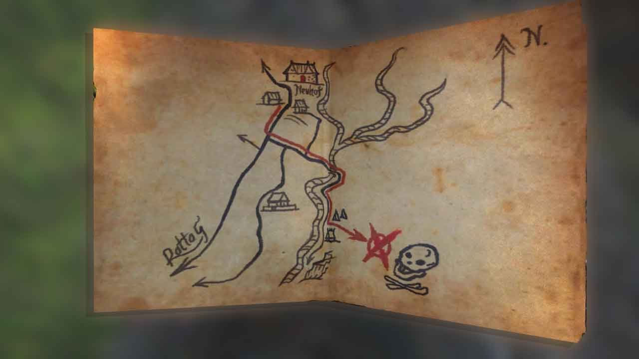 Carte Au Tresor Kingdom Come.Carte Au Tresor Ancestral 01 Kingdom Come Deliverance