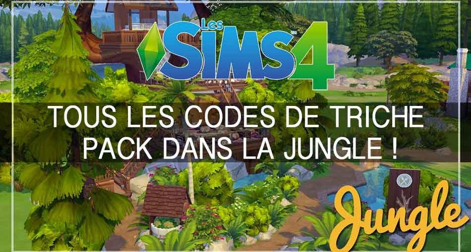 codes-de-triche-dans-la-jungle-les-sims-4
