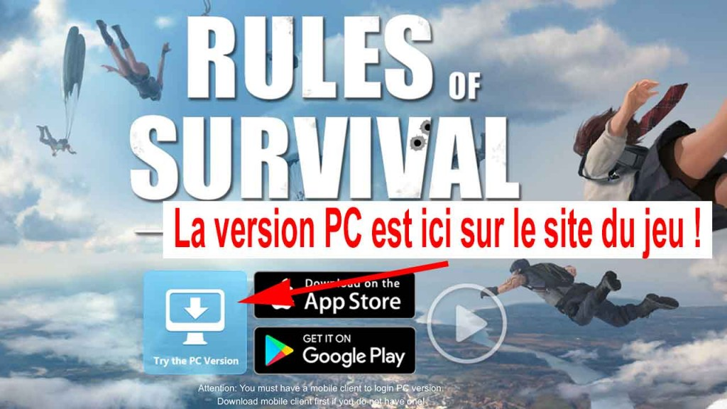 jouer-a-rules-of-survival-version-PC