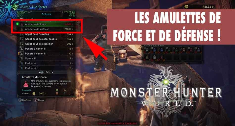 monster-hunter-world-astuce-amulette-force-defense