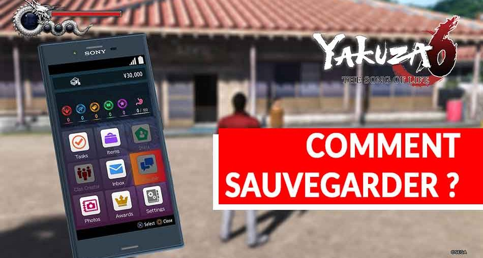YAKUZA-6-The-Song-of-Life-sauvegarder-une-partie