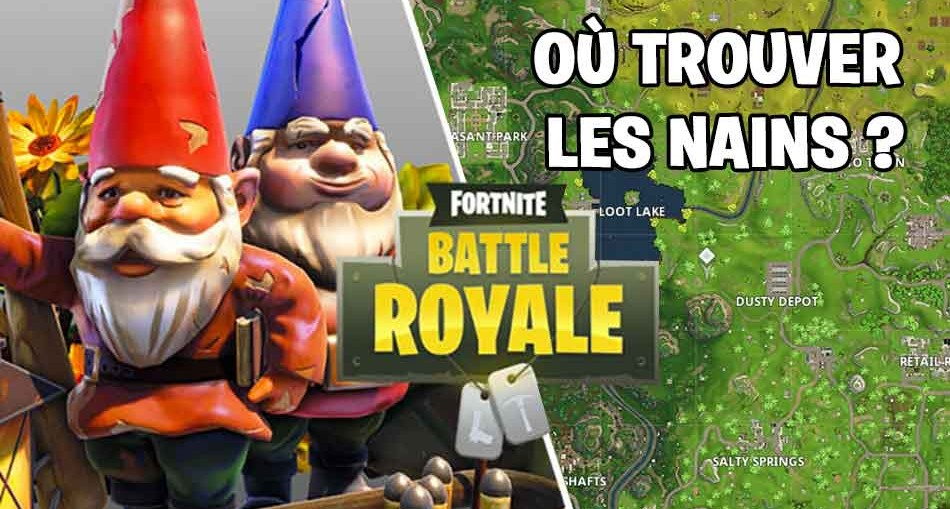 fortnite d fi semaine 7 ou trouver les nains de jardin cach s dans diff rents lieux dits. Black Bedroom Furniture Sets. Home Design Ideas