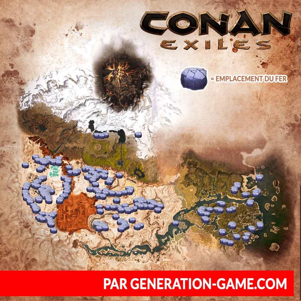 carte-conan-exiles-emplacement-minerais-fer