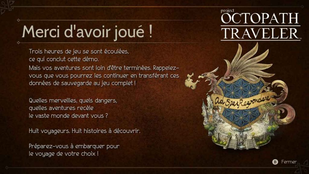 octopath-traveler-ecran-fin-demo-jouable