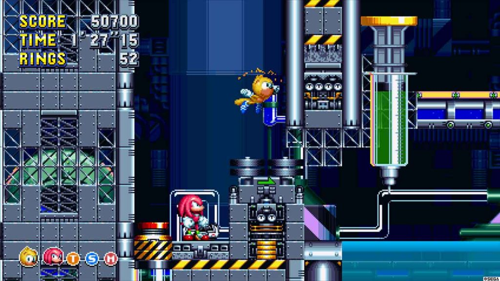 sonic-mania-plus-ray-technique-de-vol-planage