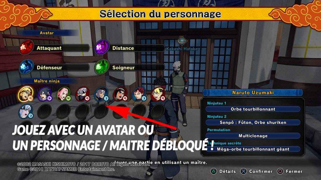 selection-personnage-naruto-to-boruto-shinobi-striker