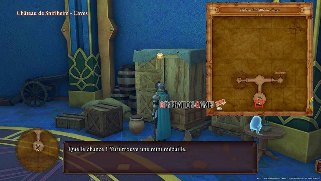 27-dragon-quest-11-mini-medaille-cave-chateau-de-sniflheim