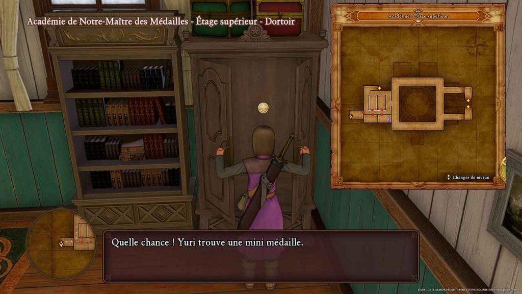 dragon-quest-11-mini-medaille-19-academie-de-notre-maitre-des-medailles