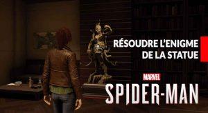 resoudre-enigme-statue-spiderman-ps4