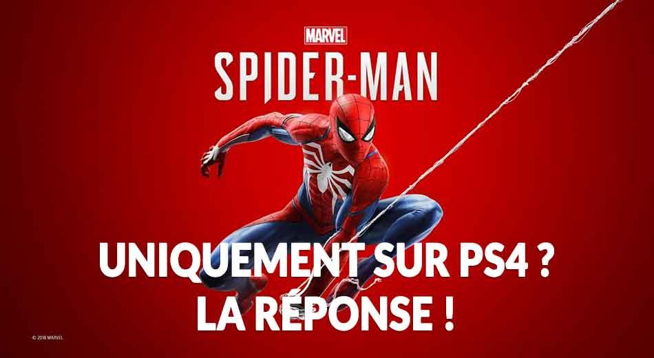 Le nouveau jeu Spiderman sort-il aussi sur Xbox One, PC ou