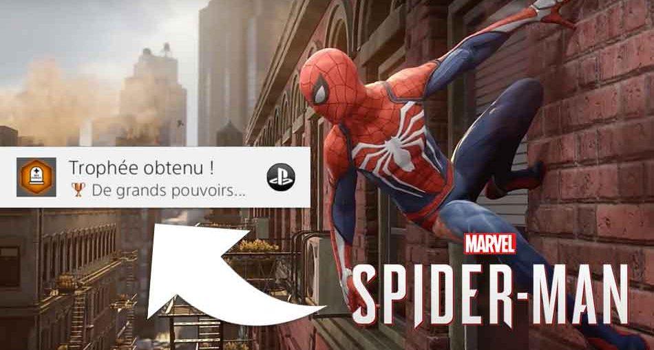 spiderman-ps4-trophee-de-grands-pouvoirs-tombe-oncle-ben