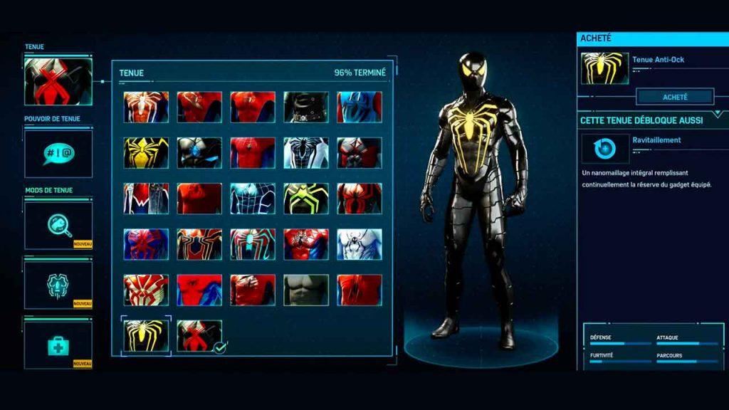 tenue-anti-ock-spiderman-ps4