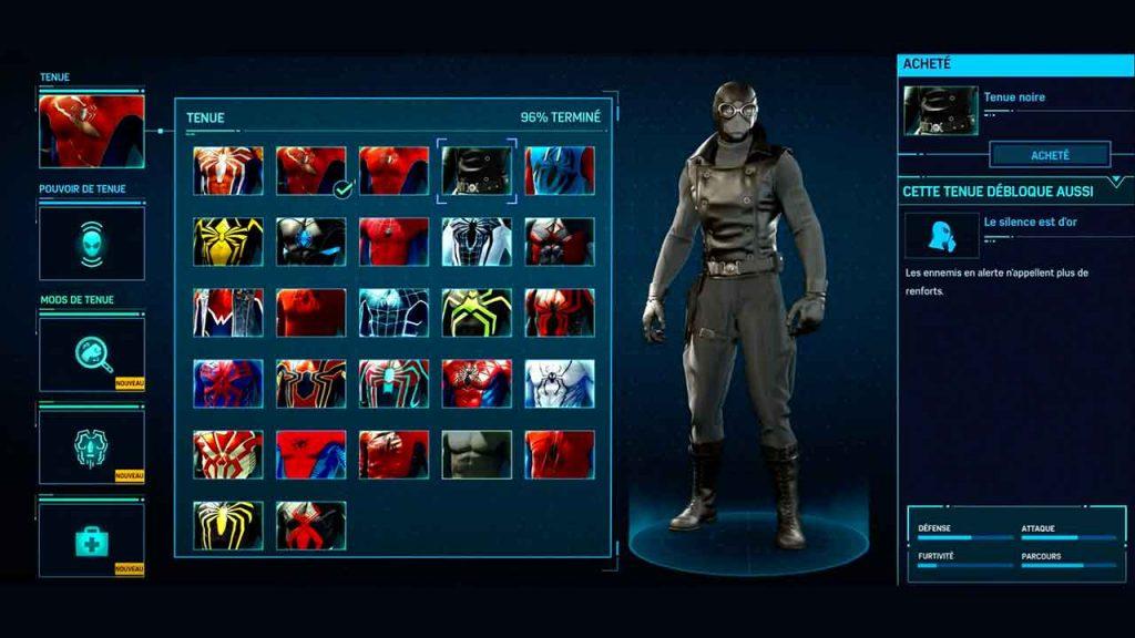 tenue-noire-de-spiderman-ps4