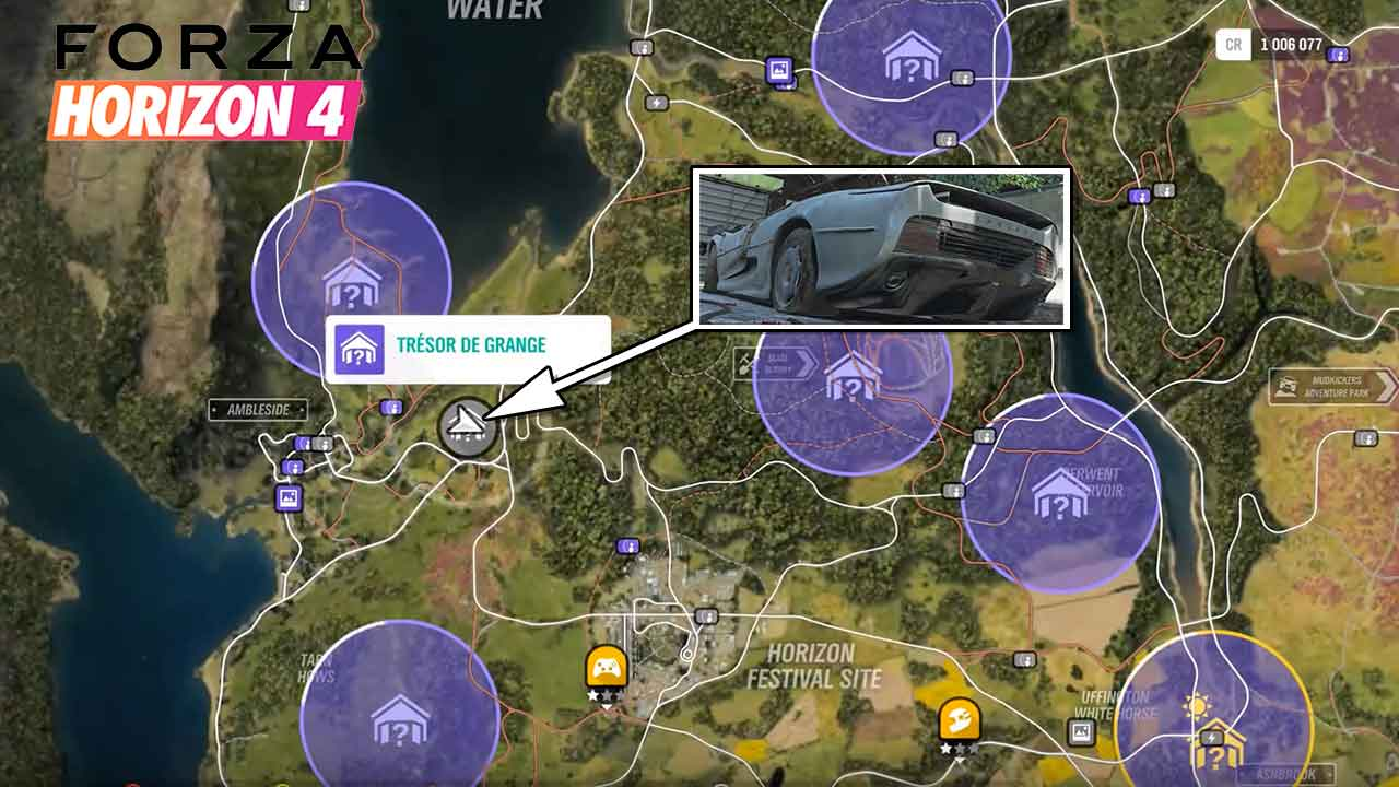 guide forza horizon 4 emplacement tr sor de grange pour obtenir la jaguar xj220 de 1993. Black Bedroom Furniture Sets. Home Design Ideas