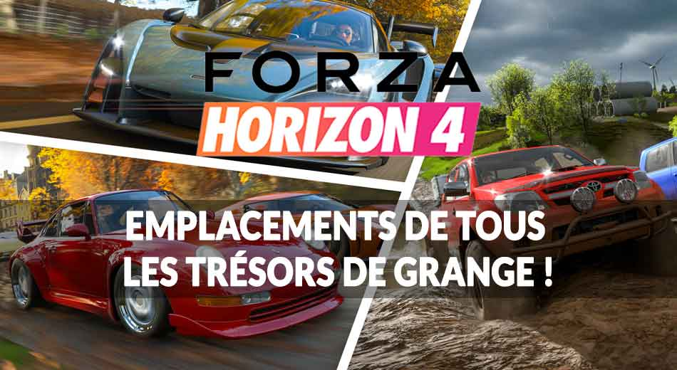 guide forza horizon 4 comment d bloquer tous les tr sors de grange paves de voitures. Black Bedroom Furniture Sets. Home Design Ideas