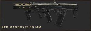 rfb-maddox-5-56MM-arme-blackout-black-ops-4