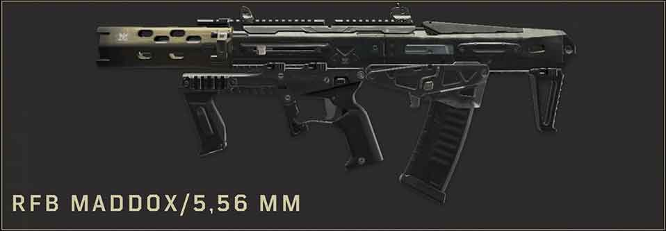 rfb-maddox-5-56MM-arme-blackout-black-ops-4