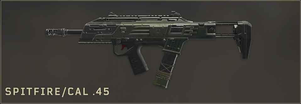 spitfire-cal-45-CoD-Black-Ops4-Blackout