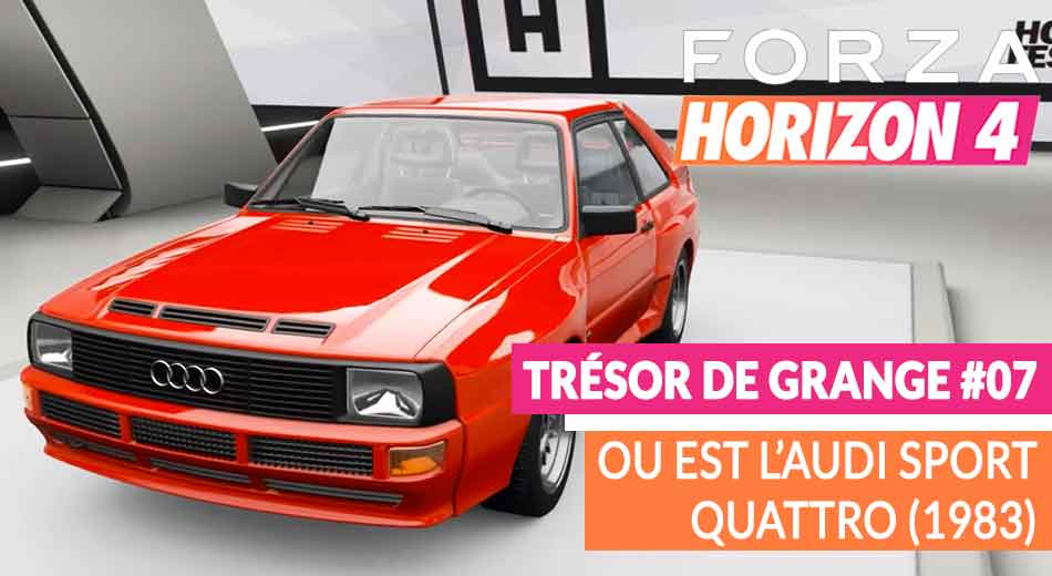 forza horizon 4 d bloquer l 39 audi sport quattro 1983 generation game. Black Bedroom Furniture Sets. Home Design Ideas
