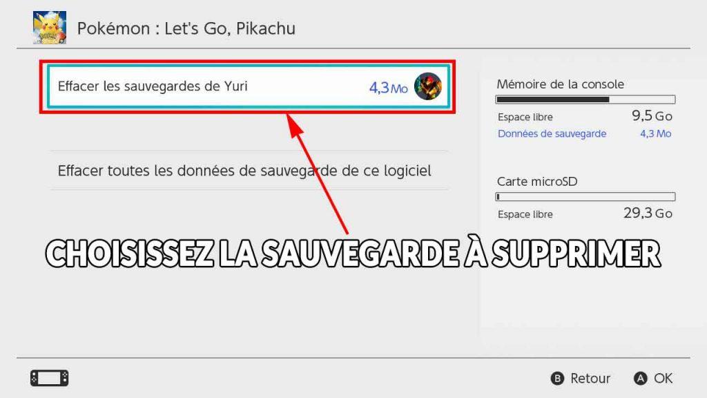 guide-supprimer-une-sauvegarde-de-pokemon-lets-go-pikachu-evoli