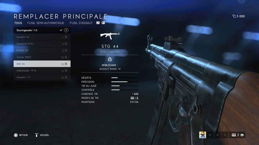 Battlefield-5-STG-44-fusil-assaut-meilleure-arme