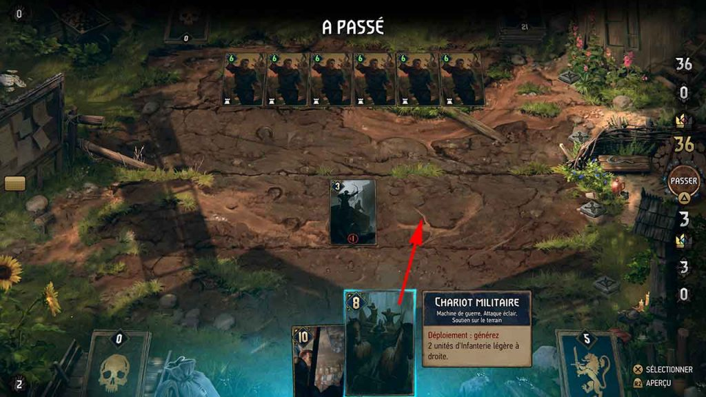 Thronebreaker-The-Witcher-Tales-chariot-militaire-ligne-de-front