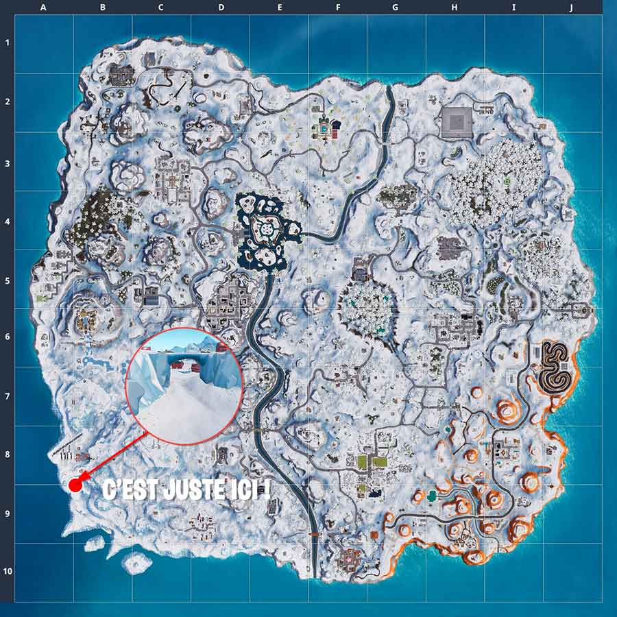 carte-fortnite-emplacement-banniere-defi-grand-froid-semaine-8