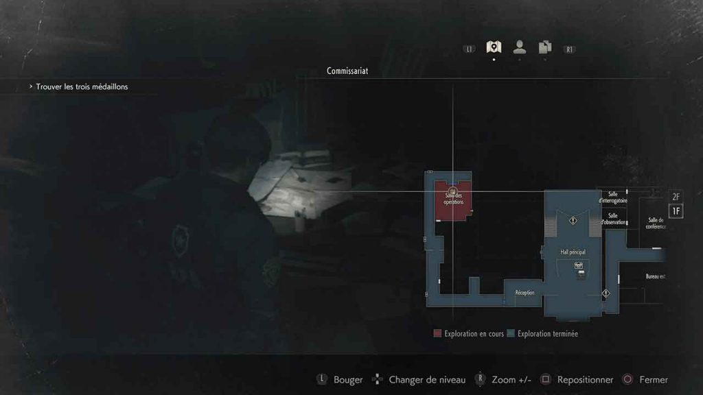 carte-raccoon-city-astuce-resident-evil-2
