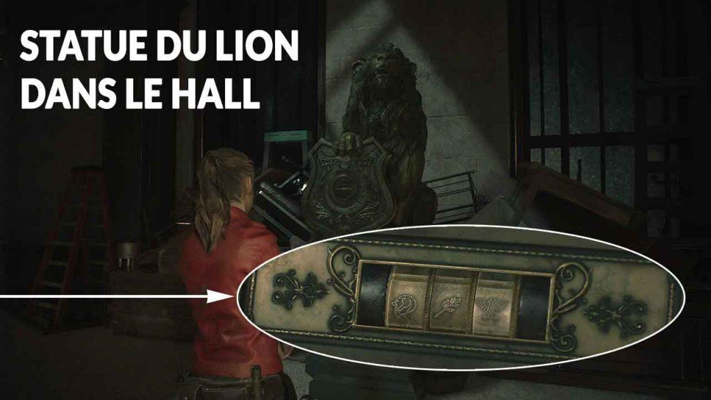 medaillon-du-lion-resident-evil-2