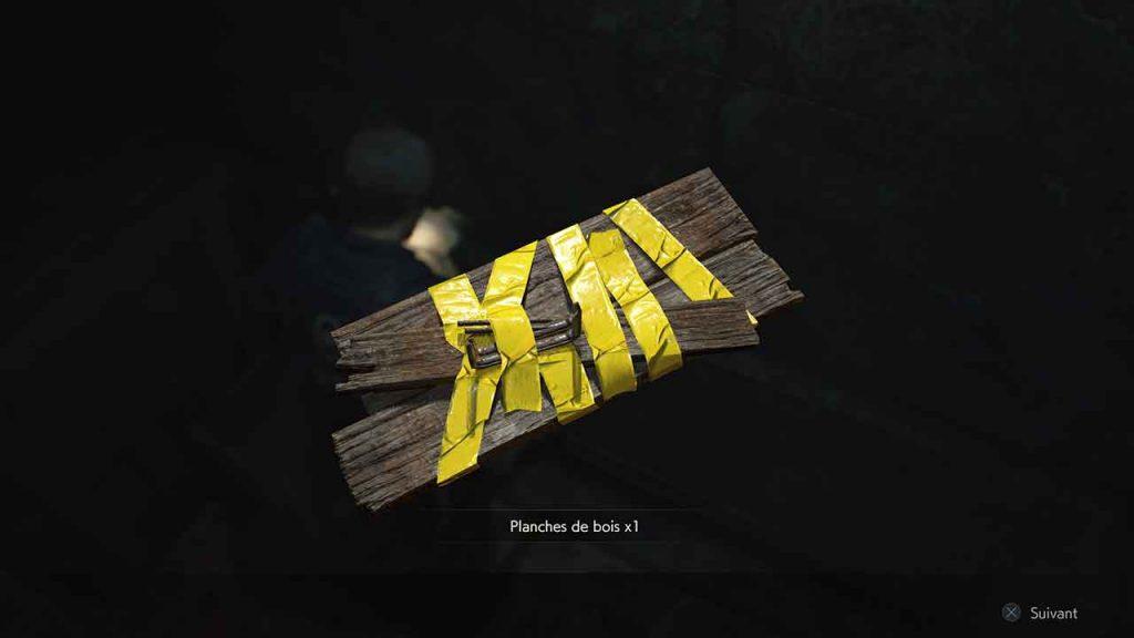 objet-planche-de-bois-astuce-resident-evil-2